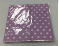 Pack of 20 Polka dot napkins (Code 3589)